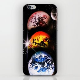 One World Over iPhone Skin