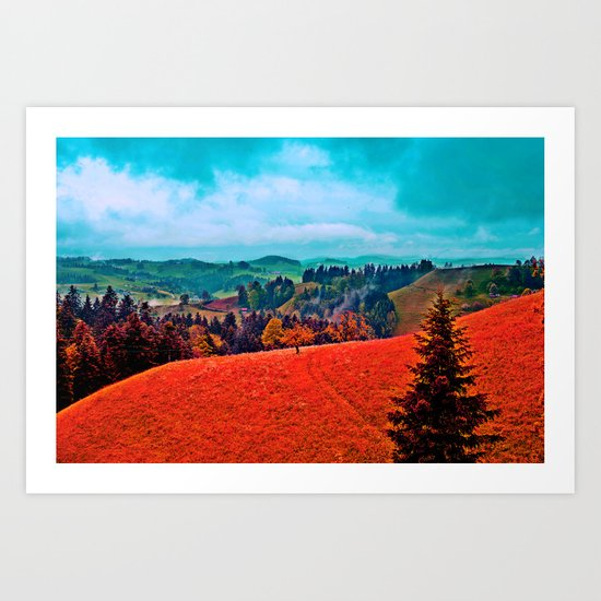 Landscape Print Art Print