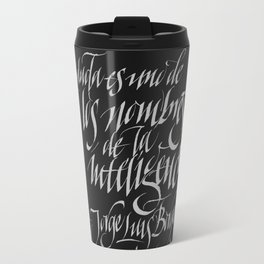 Doubt Travel Mug