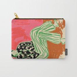 CALM WOMAN PORTRAIT Carry-All Pouch