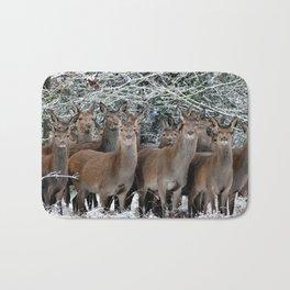 Herd Of Deer Bath Mat
