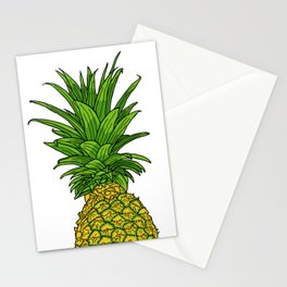Pi the pineapple Stationery Cards