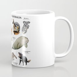 Animals of Australia Coffee Mug
