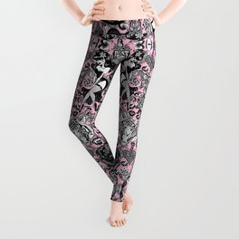 Pink Halloween Leggings