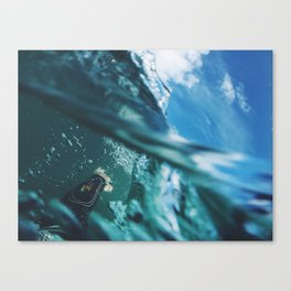First-Person Wipeout Canvas Print