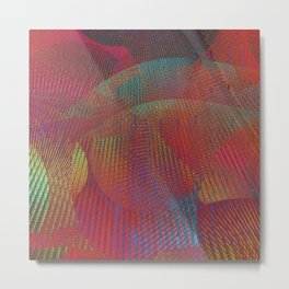 Colorful digital art Metal Print