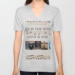 Love of Music Unisex V-Neck