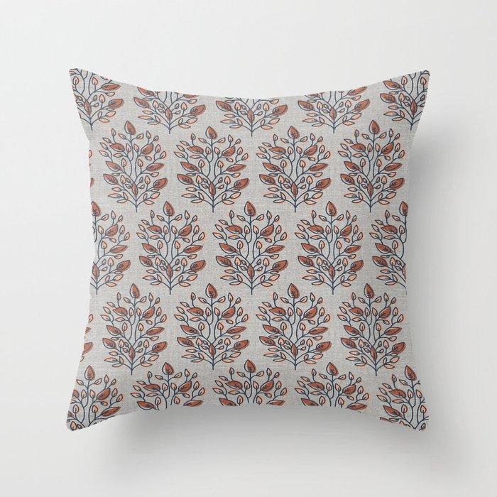 YUMI SUNSET Throw Pillow