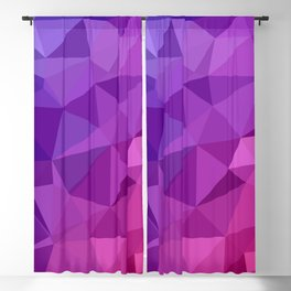Abstract Geometric Poly #3 Blackout Curtain