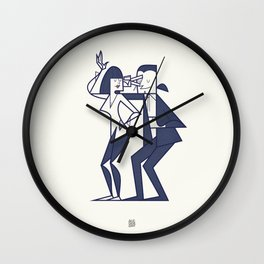 Just shut the fuck up and love me Wall Clock