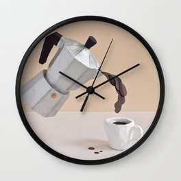 ESPRESSO TO WOW Wall Clock