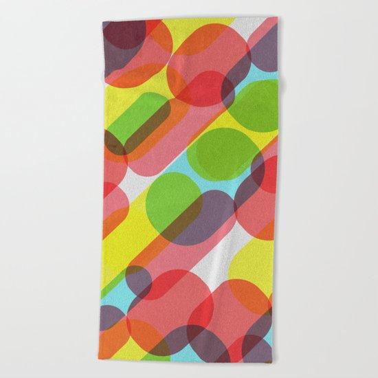Bubble Burst Pattern Beach Towel