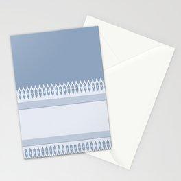 Decorative Blues Stationery Cards