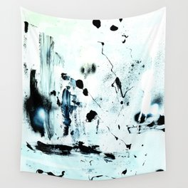 black meets white Wall Tapestry