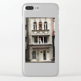Three Rooms Clear iPhone Case