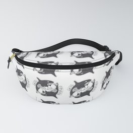 Save The Orcas (50% of commission is donated to the World Wildlife Fund) Fanny Pack