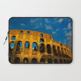 Sunset Over The Roman Colosseum Laptop Sleeve