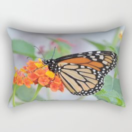 The Monarch Has An Angle Rectangular Pillow