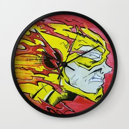 Speedster - Reverse Flash Wall Clock