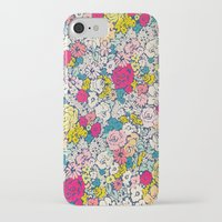 vintage flowers iPhone & iPod Cases featuring Vintage flowers by Love2Snap