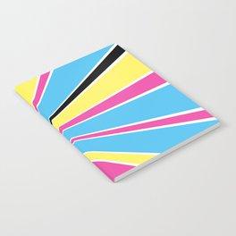 CMYK Star Burst Notebook