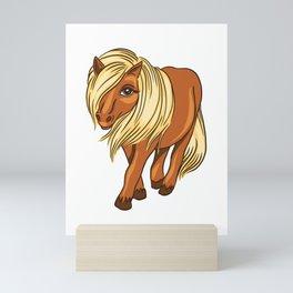 Shetland Pony Mini Art Print