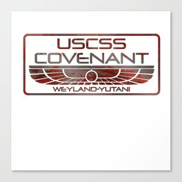 Covenant Oxide Canvas Print