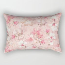 PINK MAGNOLIAS Rectangular Pillow