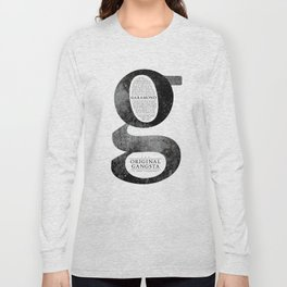 O.G. Garamond Long Sleeve T-shirt
