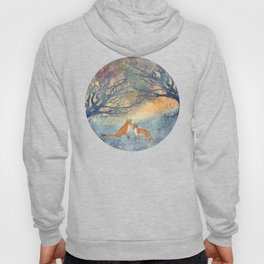 The Two Foxes Hoody