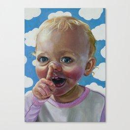 Sassy Pants Canvas Print