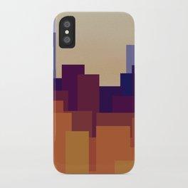 Cityscape iPhone Case