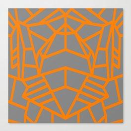 Lunar Lines Canvas Print