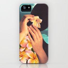 Polynesian Princess iPhone Case