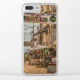 Street Of Montanita, Ecuador Clear iPhone Case
