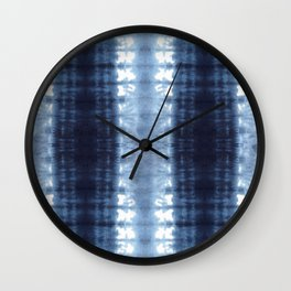Neue Jersey Shibori Wall Clock