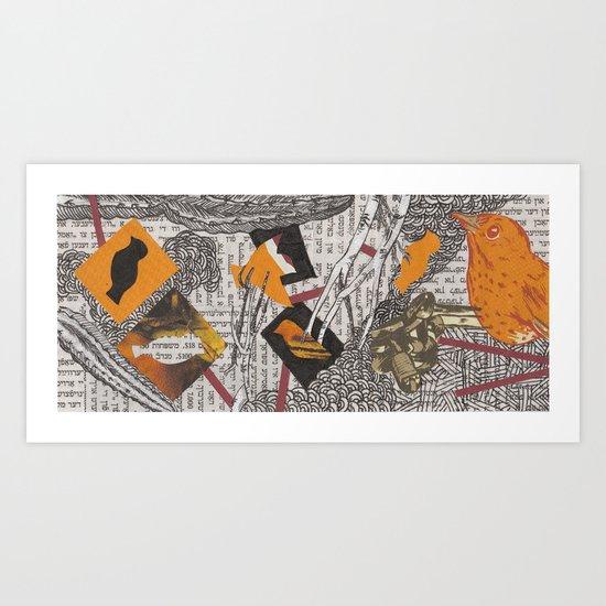 Feygelakh פייגעלאך Art Print