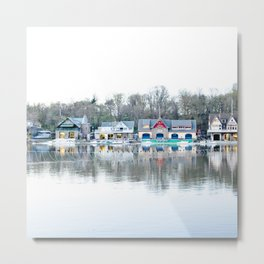 Boathouse Row Metal Print