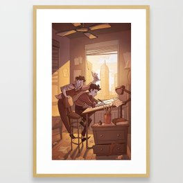 Kavalier & Clay Framed Art Print