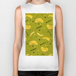 Bananas pattern Biker Tank