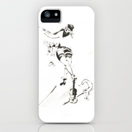 Marc Chagall, Acrobat with Violin 1924 Artwork, Posters Tshirts Prints Bags Men Women Kids iPhone Case