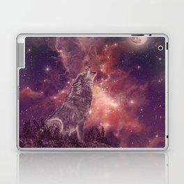 wolf and sky Laptop & iPad Skin