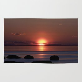 Shock-wave Sunset Rug