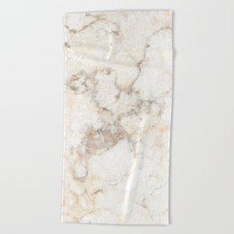Marble Natural Stone Grey Veining Quartz Beach Towel