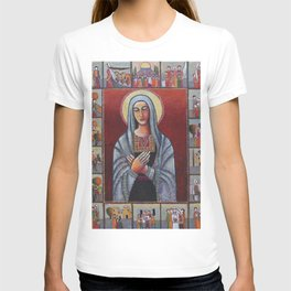 Holy Family #1 By Nabil Anani T-shirt