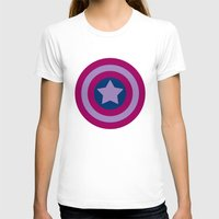 bisexual T-shirts featuring American Pride (bisexual edition) by Nikki Homicide