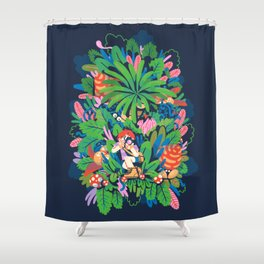 Oh Snap! Shower Curtain