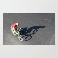 cycling Area & Throw Rugs featuring Cycling by Avigur