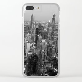 Chi-town - Chicago Clear iPhone Case