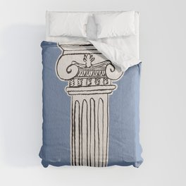 Greek ionic column Comforters